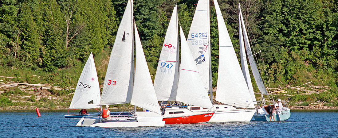 Informal Sailboat Racing